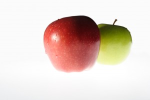 Apples - a symbol of healthy nutrition