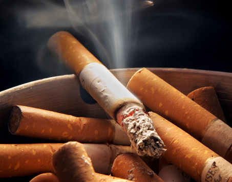 Cigarette smoke emmits foul odors and more than 4,000 toxic chemicals